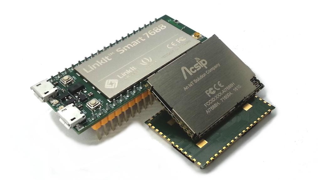 AI7688H模組的尺寸只有原開發板的60%