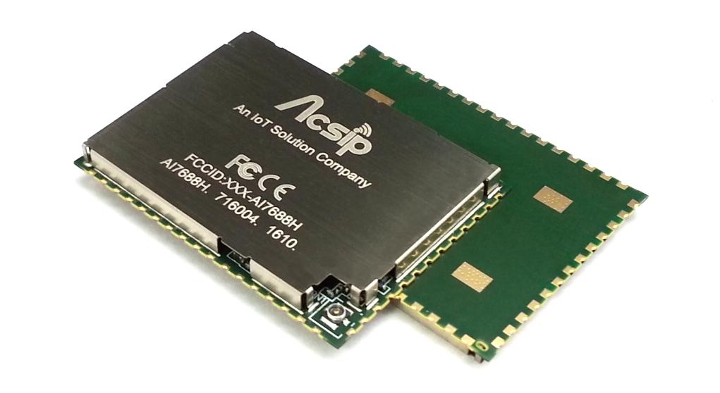 群登推出AI7688H模組,讓7688設計可無痛移植到量產版本