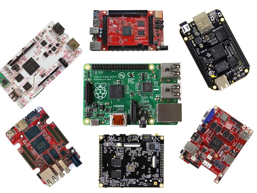 市場上已有眾多RPi替代方案