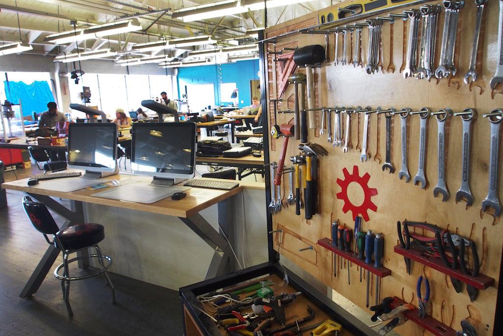 Techshop是全球Makerspace的發源地(圖片:MakerPRO)