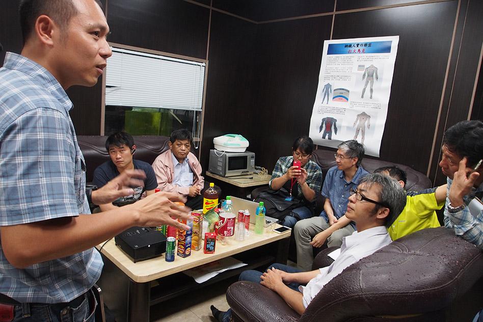 豐義隆廖董表示,台灣其實適合發展小量多樣、有差異化的東西。