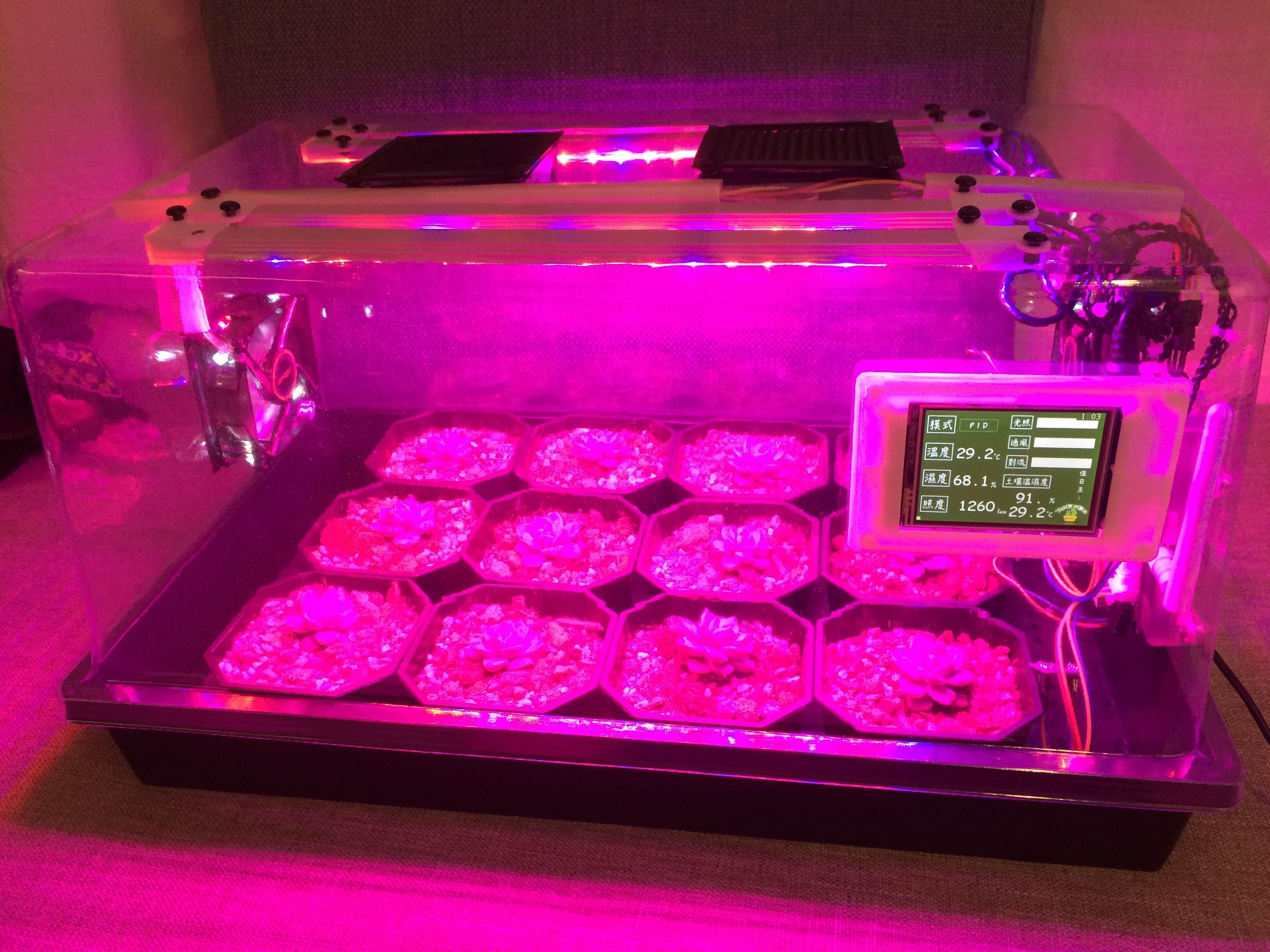 肉多多溫室完成!