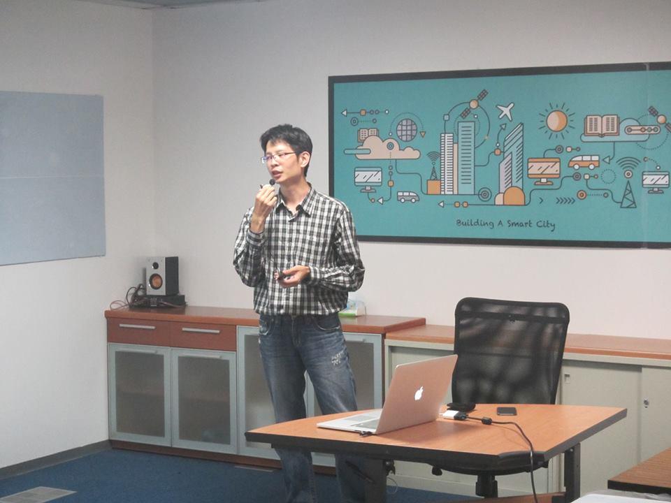 邁特電子的新創服務負責人—Ray Tai
