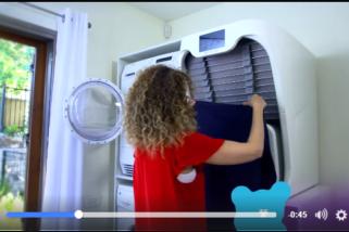 科技來自於惰性─自動摺衣機