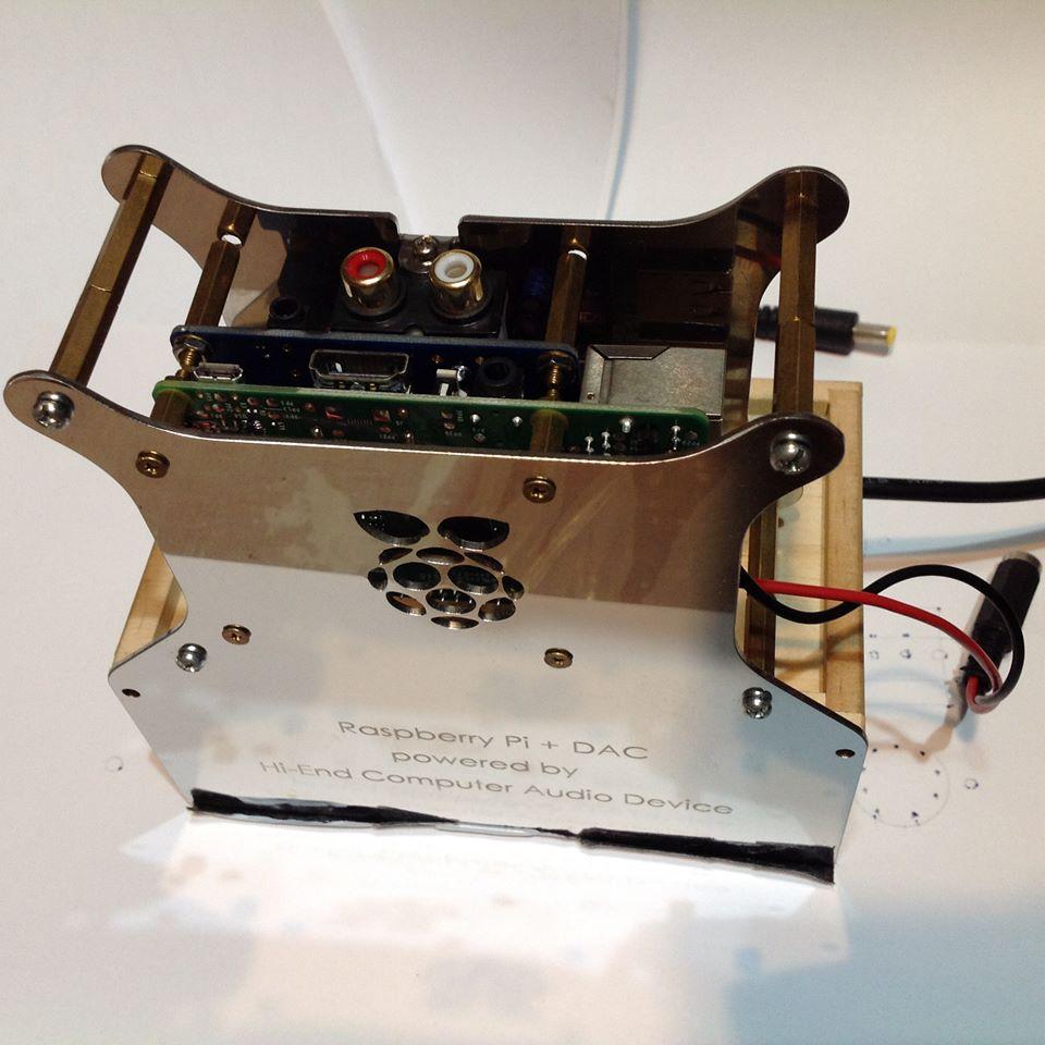 協明為Maker少量加工製造的RPi串流播放器