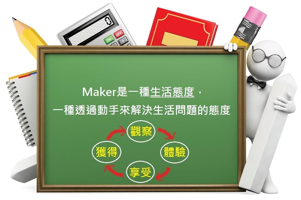 執行Maker 結合教育四大階段循環