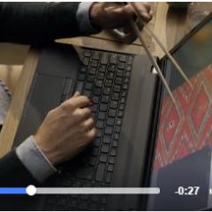 貼上小黑條,讓筆電進化成觸控螢幕