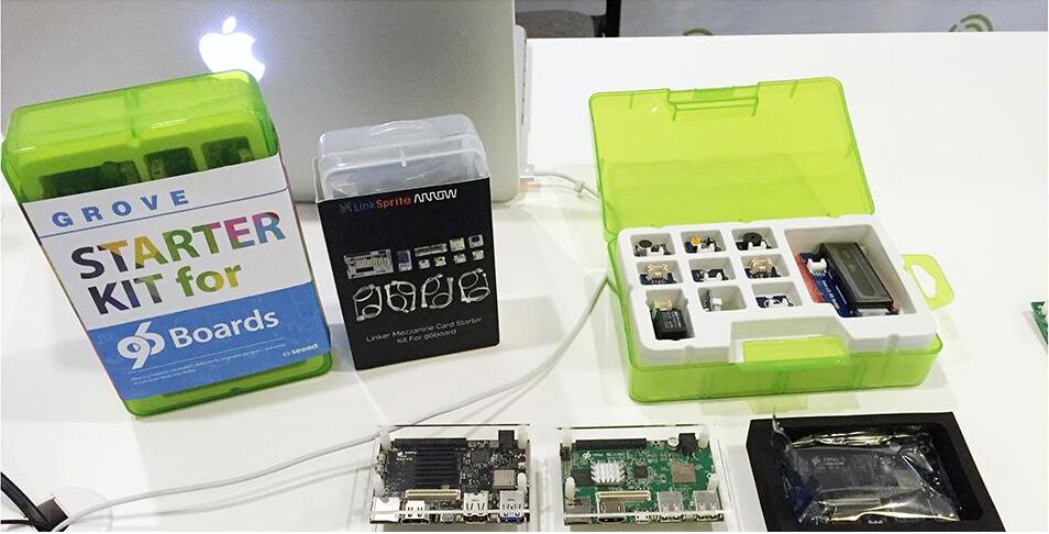 96Boards消費版提供適合Maker運用的開發套件,支援的晶片業者較企業版多