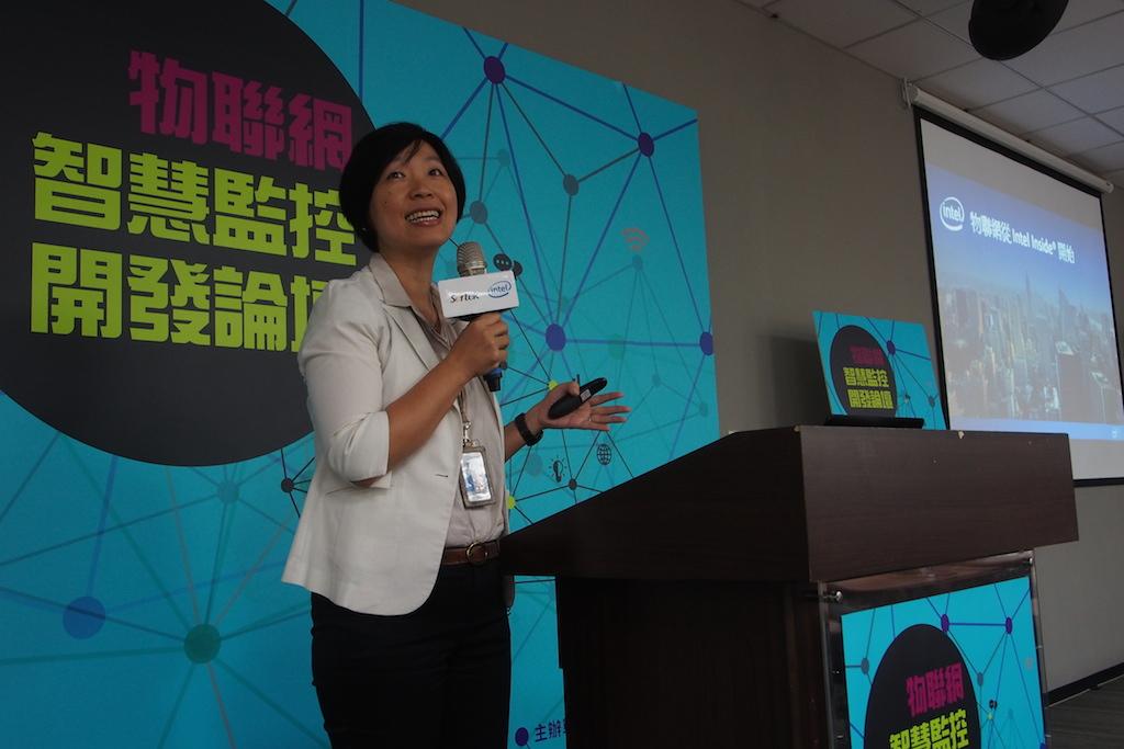英特爾台灣分公司客戶整合方案總監邱素蓉
