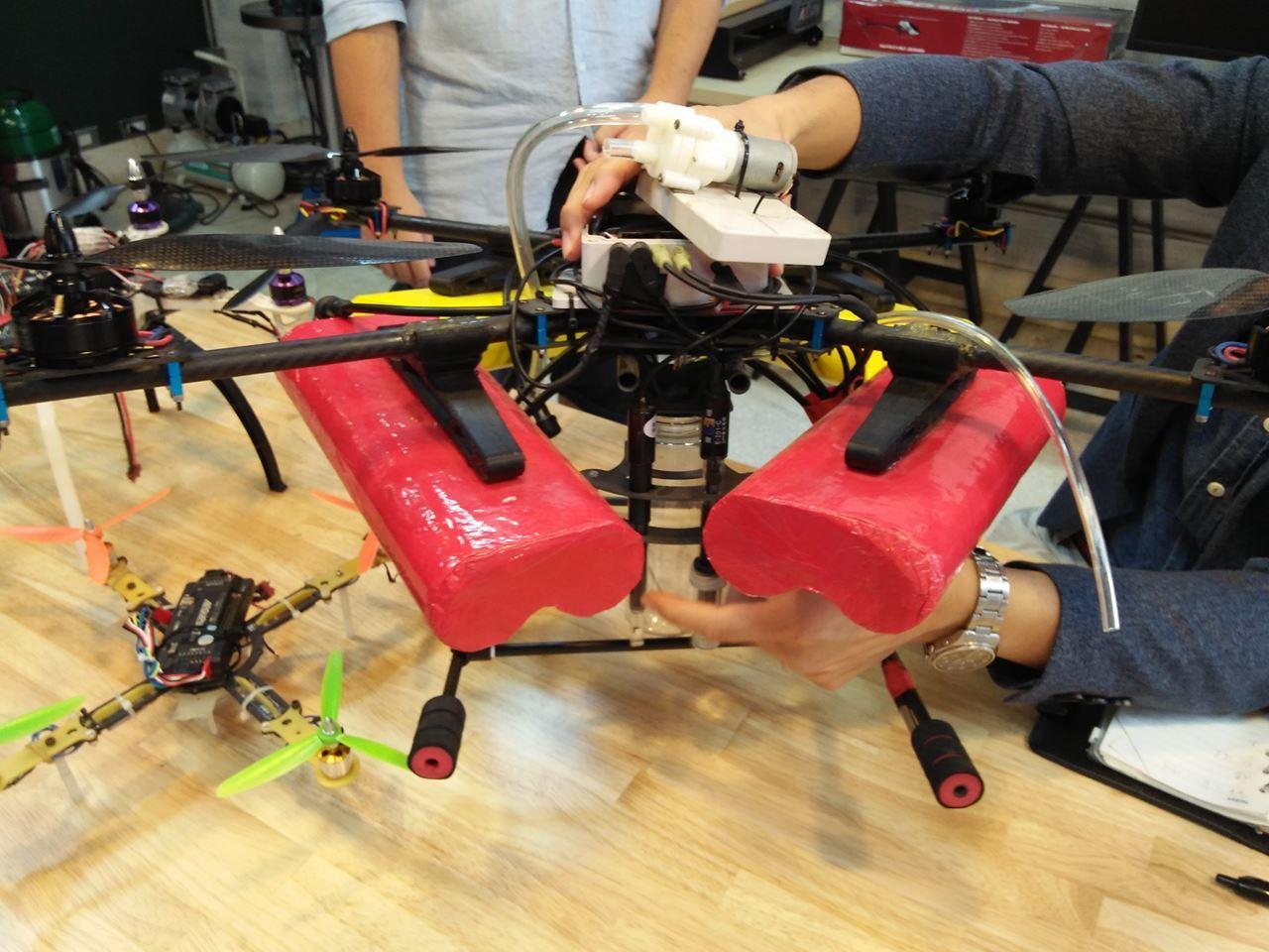 水質監控無人機完成作品