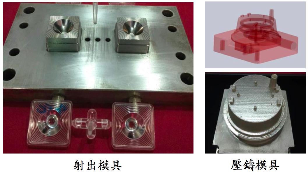 Maker可運用金屬3D列印來製作先期量產模具(Source: 金屬中心)