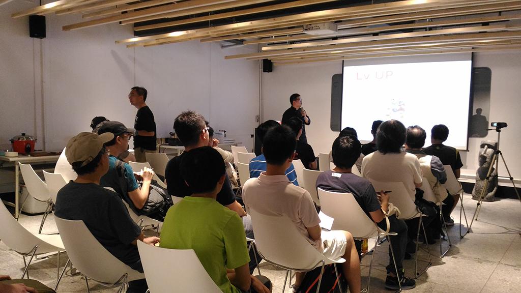 KitchBot創辦人Sam於空總分享會分享創業歷程