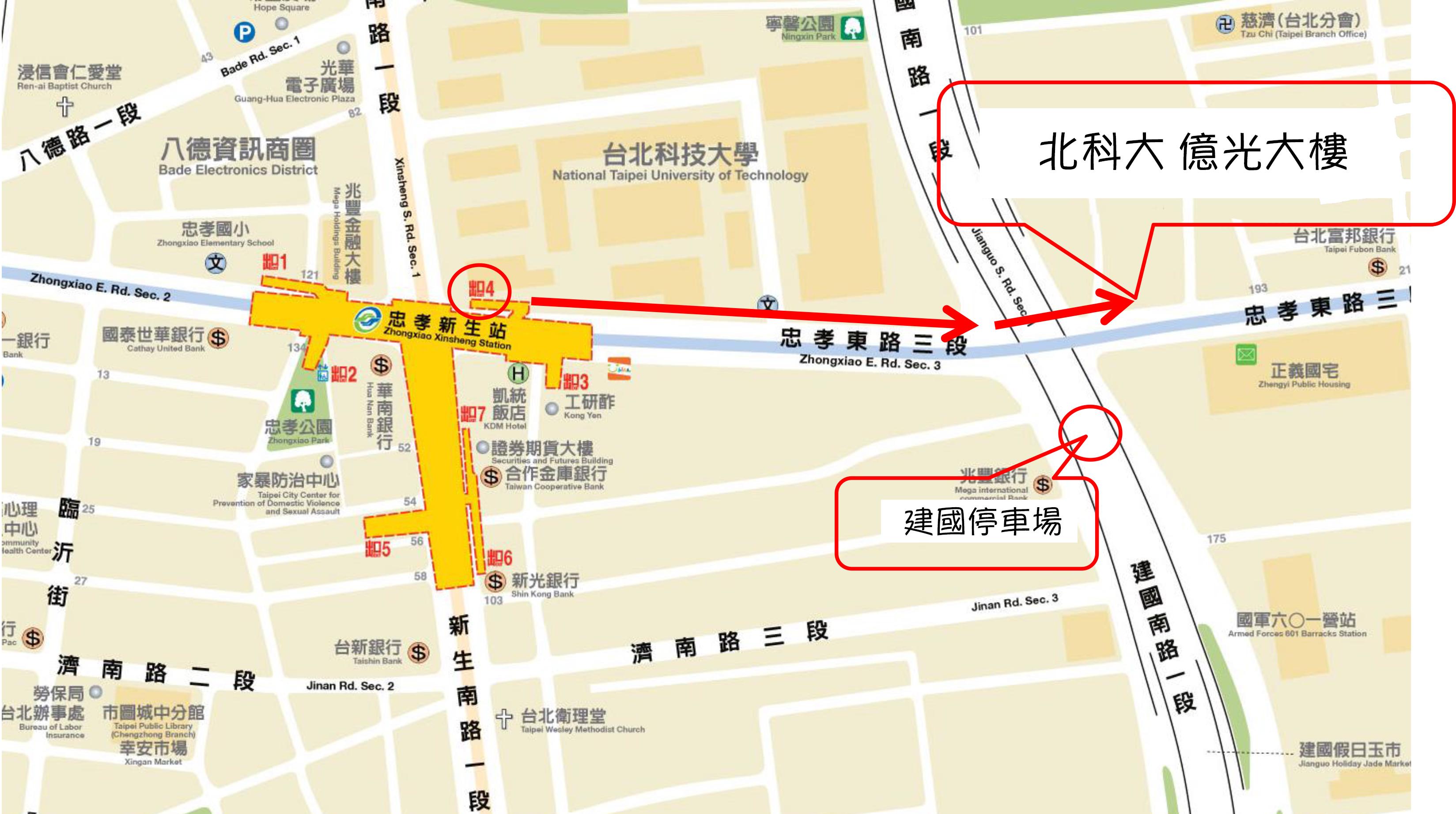 北科億光大樓路線圖_map