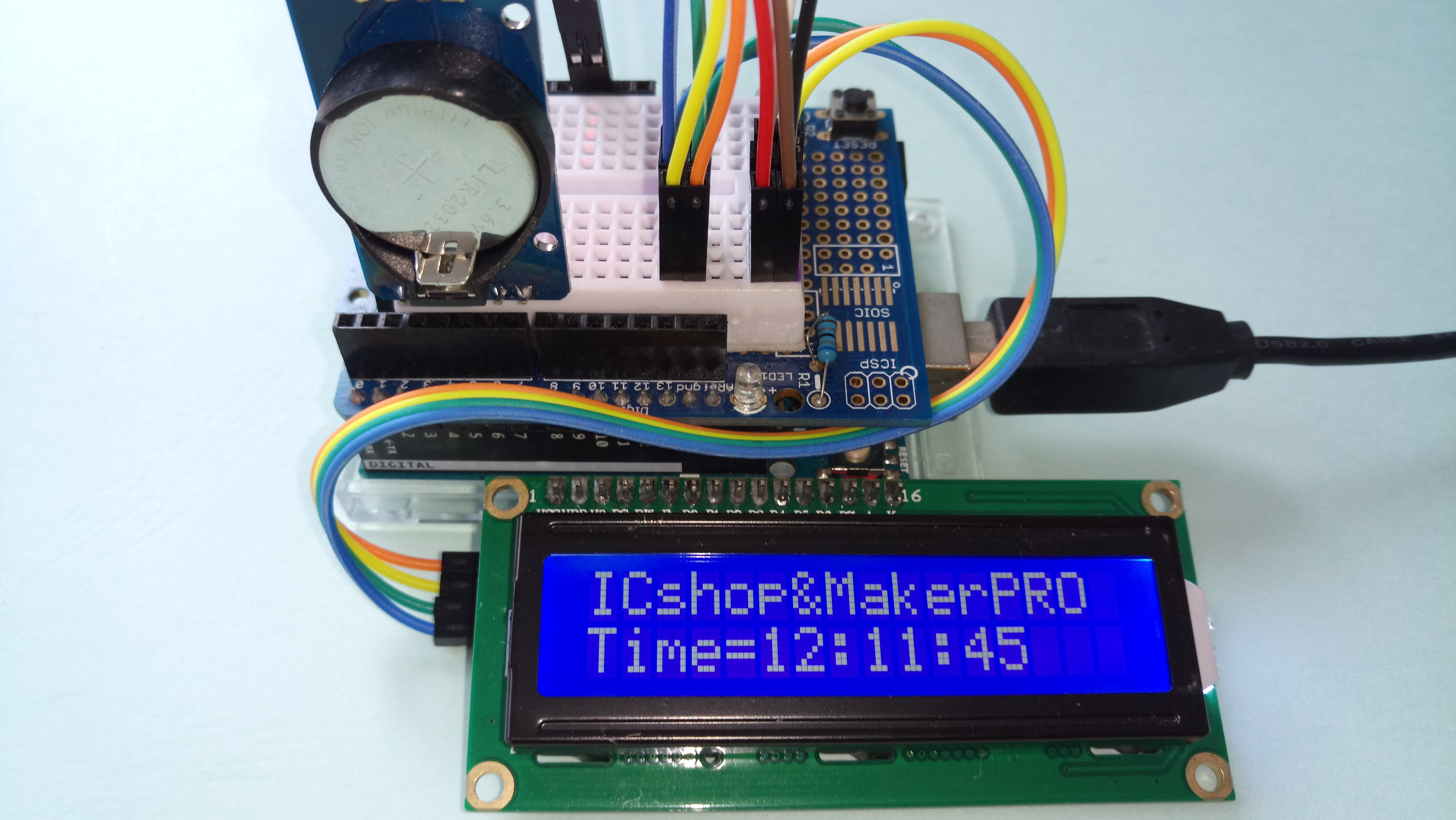 自造學堂】如何用Arduino x RTC完成LCD時間顯示? | Building Maker