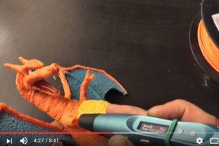 精巧3D列印筆,造出栩栩如生的寶可夢!