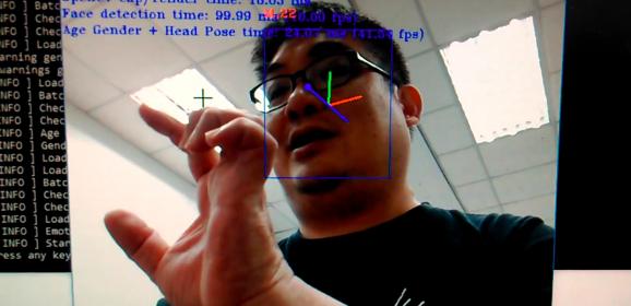 【AI加速工具】用OpenVINO模型範例判斷性別與年齡