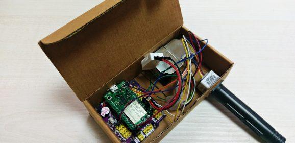 【Tutorial】自己的室內空氣感測器自己做!