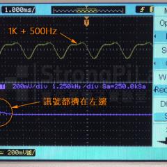 【實作實驗室】FFT 頻域測量—示波器瞬間變頻譜