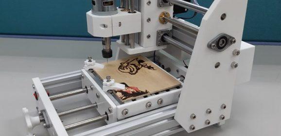 【創客好物】高CP值可攜式CNC雕刻機的誕生
