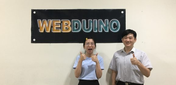 【人物專訪】Maker創業,延續動手做的熱情 - Webduino許益祥