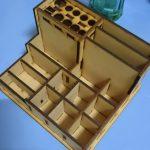 【文創設計】多寶格居家收納設計:香水、化妝品收納盒