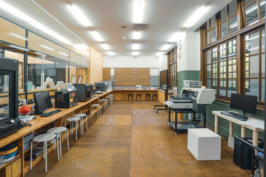 松菸創作者工廠設備空間(圖片來源:松菸創作者工廠FB)
