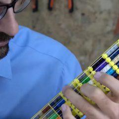 【列印良品】用樂高和3D列印製作微分音吉他