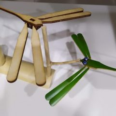 【文創設計】童玩的科學原理 — 雷切平衡蜻蜓