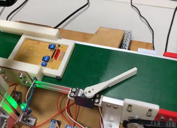 【CAVEDU講堂】Raspberry Pi 4 之輸送帶影像辨識分類機電整合實作