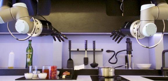 機械手臂搶工作!?  做菜、繪畫、泡咖啡樣樣精通