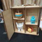 【文創設計】辦公室小物太多桌面好亂?動手做個迷你展示櫃!