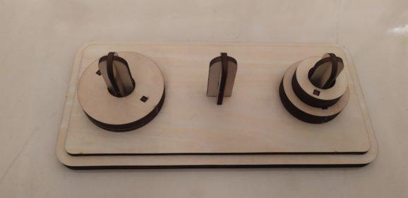 【文創設計】童玩的智慧 — 河內塔的設計與製作