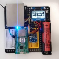 【NB-IoT】用DSI2598+開發板自造落塵檢測器