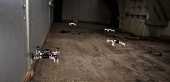 無人機群(Drone Swarm)能救援、探勘,也能變身戰鬥部隊!