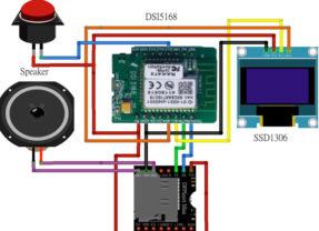【防疫居家學習】用DSI5168自製上、下課鐘聲播放器